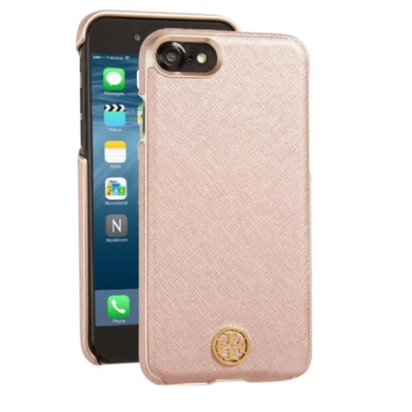 info for 7f309 569c3 Tory Burch iPhone 6 case! Rose gold!